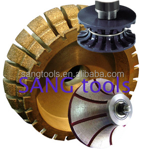 sintered diamond profiling wheel for stone