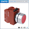 CNTD Waterproof High Quality 22MM Flat button Pushbutton Switch C2PNF
