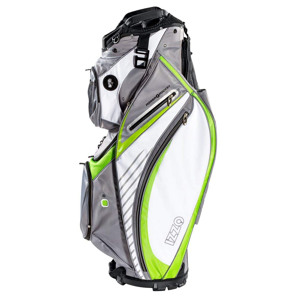 Get Quotations Izzo Gemini Cart Golf Bag Black Red Green Or Blue