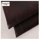 Wholesale high quality 100% polyester faux leather upholstery fabric for sofa seat cover