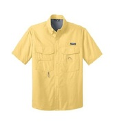 Vented Back UV Protection Performance Fishing Shirts wholesale