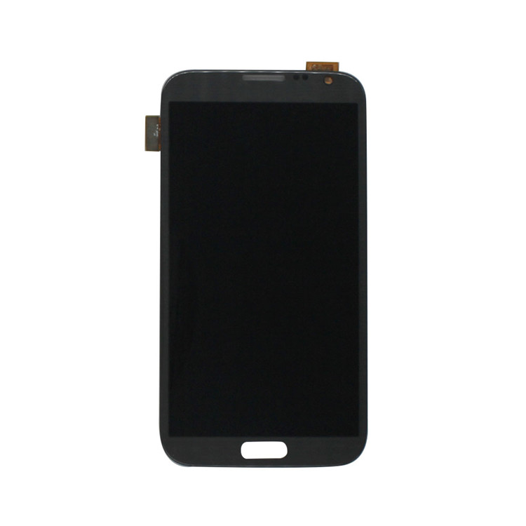 For Samsung Galaxy Note 2 N7100/SGH-i317/T889/R950/I605/L900 LCD Screen and Digitizer Assembly Replacement - White - Grade S+