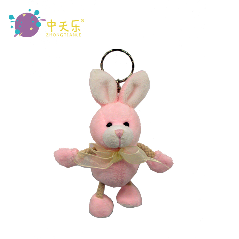 cute plush toys <strong>rabbits</strong> with ribbon stuffed animals kids toy