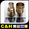custom stainless steel brass copper aluminum machining cnc car parts