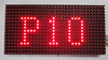 3 in1 P10 full color LED p10 RGB display module smd video led screen dot matrix outdoor