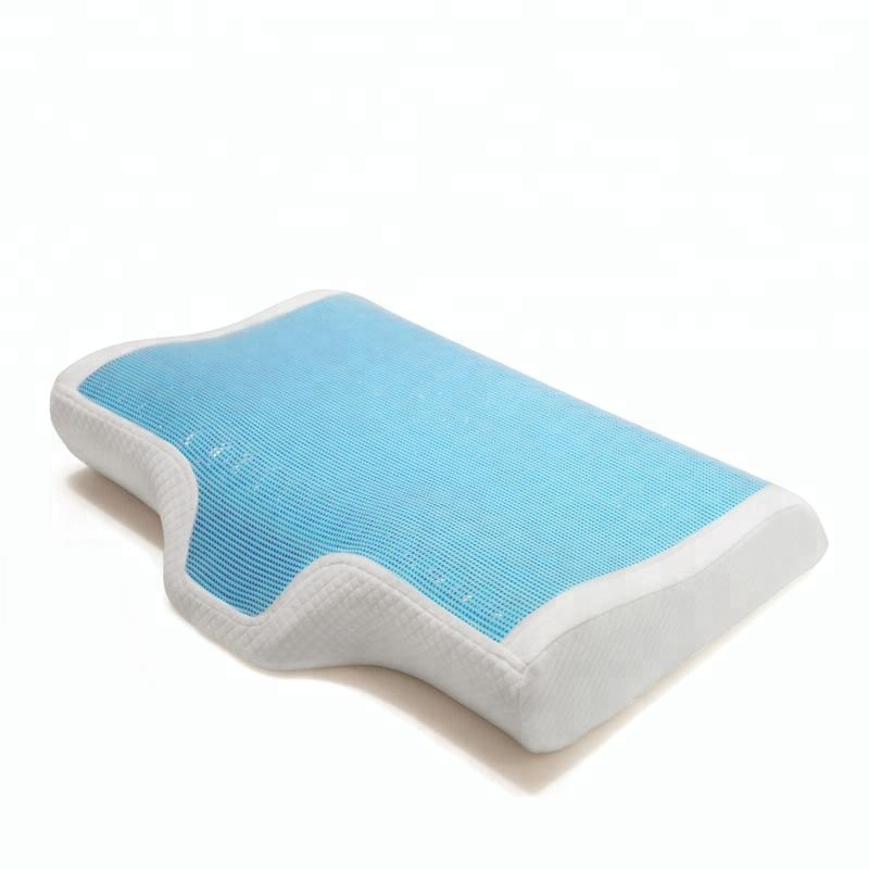 Ventilado 10 ano fonte da fábrica de alta qualidade gel infundido gel fresco travesseiro de espuma de memória