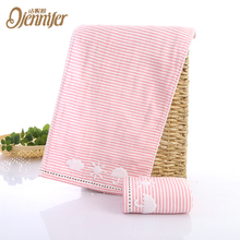 Soft bamboo baby washcloths 100% cotton baby towel