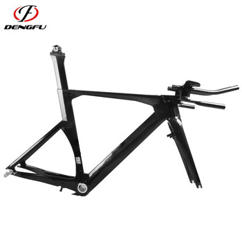 FM087 hot selling TT frameset carbon bicycle BSA carbon TT bike frame