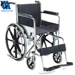 Folding wheelchair economic style with ABS rear wheel lightweight