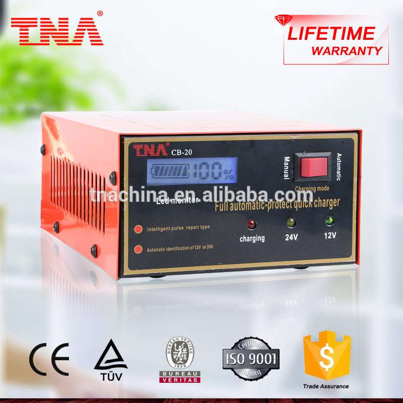 TNA car battery charger 12volte at urgently moment CB-20