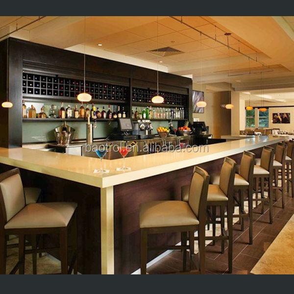Baotrol Modern Bar Counter Design For Home Furniture Buy Home Bar Counter Design Kitchen Bar Counter Designs Commercial Bar Counters Design Product