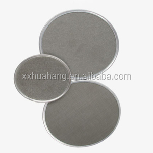 10 micron 3 layers stainless steel disk filter