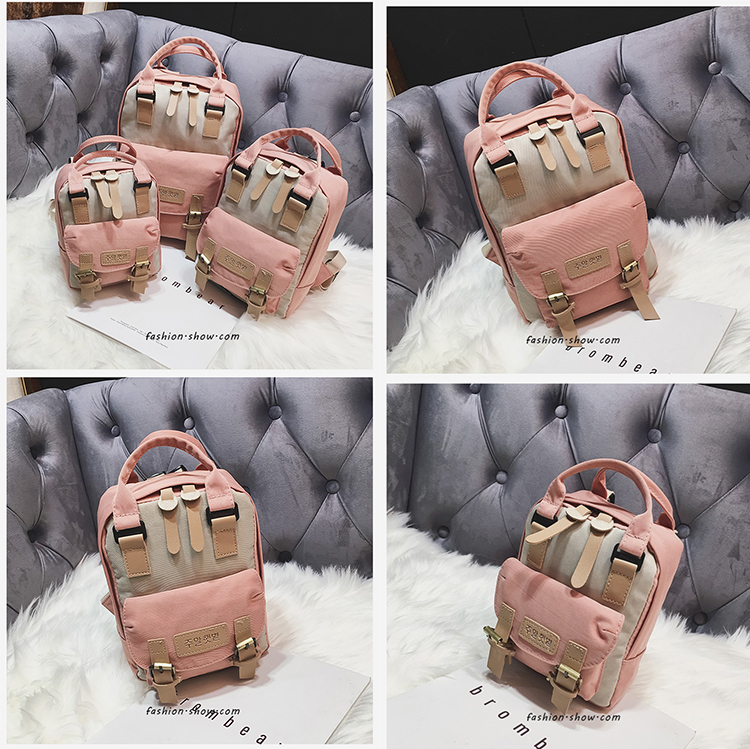 Fashion Preppy style School College Parent-child backpack Girls Boys child kids Primary Waterproof School bag