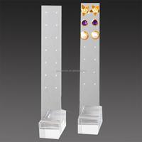 Fashion acrylic jewelry earring display card wholesale
