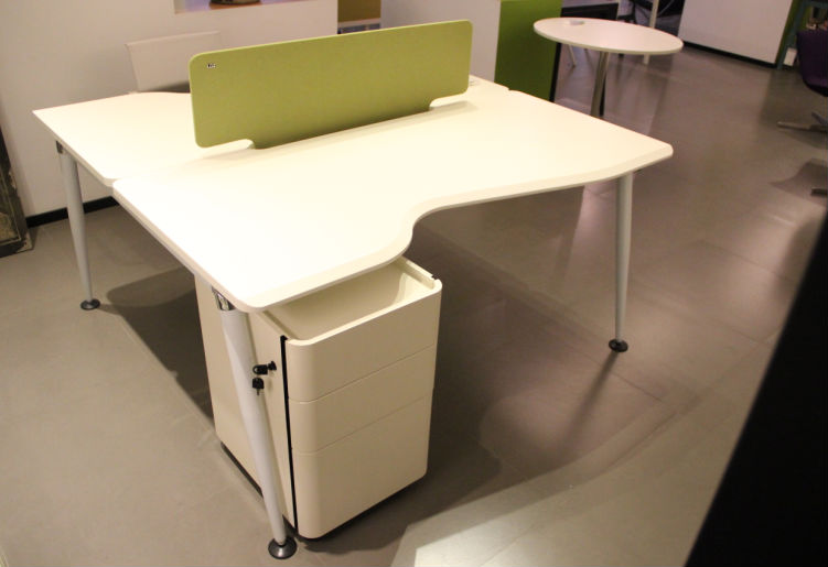 Mdf Modern Office Furniture2 Person Office Desknew Design Office