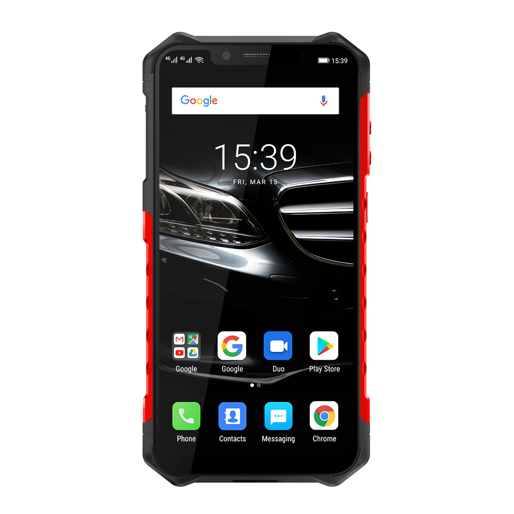 Ulefone Armor 6E Waterproof IP68 NFC  Rugged Mobile Phone Helio P70 Octa-core Android 9 4GB+64GB Smartphone Global version