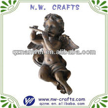 Hot selling resin cupid winged angel statue
