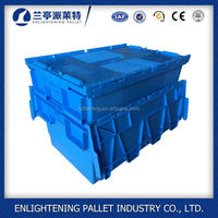 hard plastic packaging box flower shipping boxes with lock