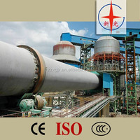 High efficiency hot sale zinc oxide rotary kiln for zn recycling