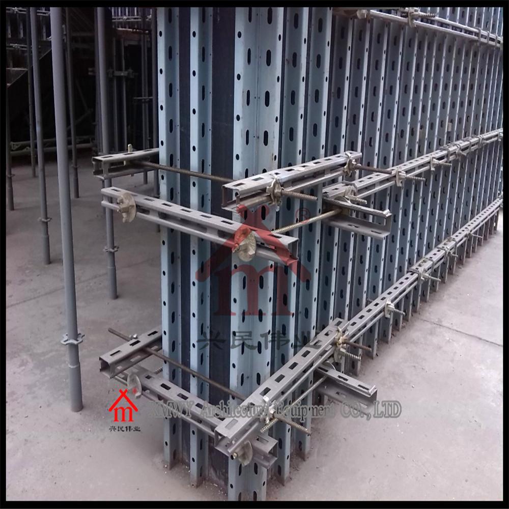 Construction concrete building prefab house column wall for Prefab columns