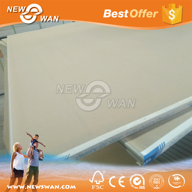 Standard paper faced zancos drywall