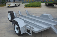 single axle motorcycle trailer