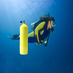 CE approved 11.0L scuba diving equipment 200bar aluminum gas cylinder