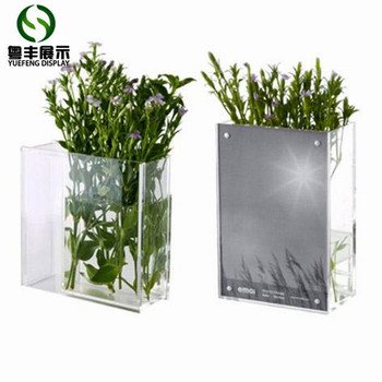 Custom High Quality Acrylic Flower Vase From China