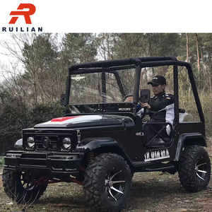 LA-21A EEC Approved 300cc Jeep Go Kart for Adults
