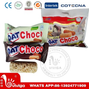 oat chocolate with two flavours