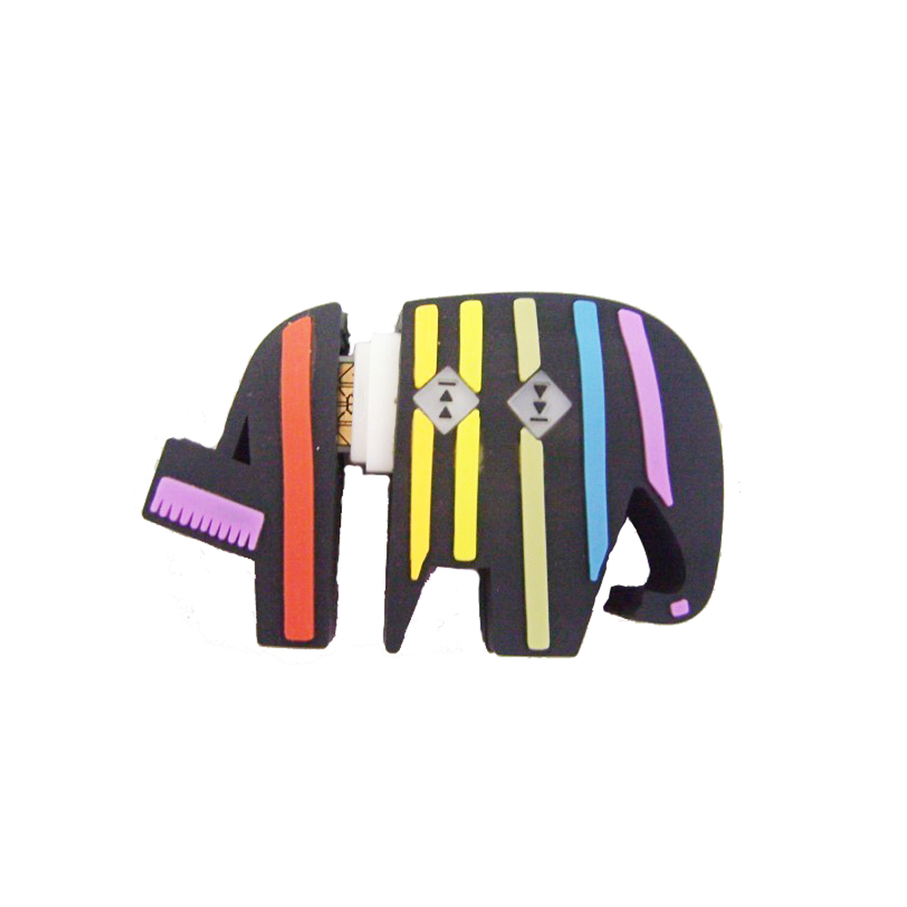 Silicone Animal Design Cartoon Elephant USB Flash Drives