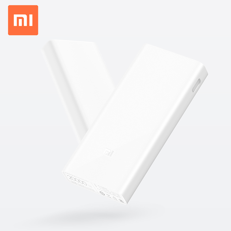 Xiaomi Mi 2 20000 mah Power Bank 20000 mah Type-c Powerbank 2 Poorten USB