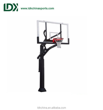 New Basketball Equipment Height Adjustable Inground Basketball Hoop Stand,Best Basketball Stand For Sale