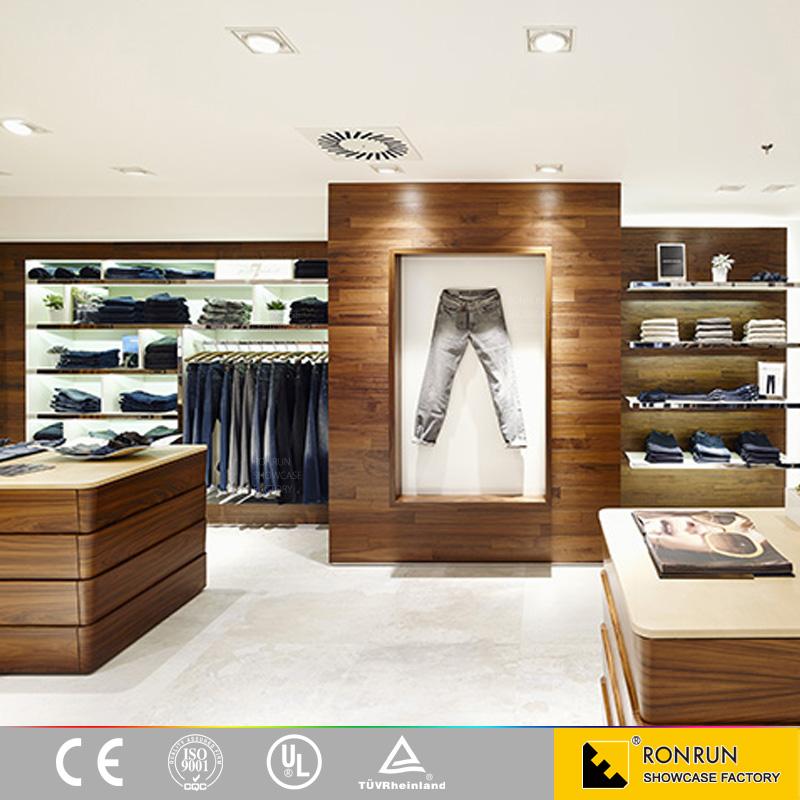Moderno muebles tienda ropa estante de exhibición para ...