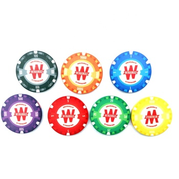 10G Wsop custom made ceramic poker chip without numbers or with denominations for tournament game