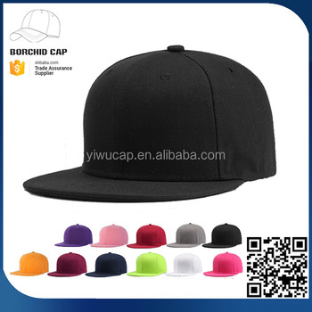9d3076a5c4352 China factory directly cheap solid neon color 100% twill polyester custom blank  baseball cap snapback