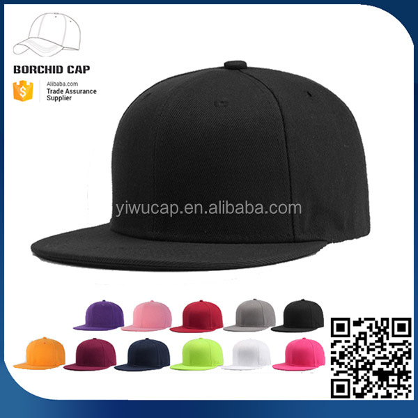 47f62192212 CONTACT SUPPLIER · China factory directly cheap solid neon color 100% twill  polyester custom blank baseball cap snapback