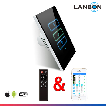 smart your life smart switch wifi control your lights curtain fan through mobile phone app. Black Bedroom Furniture Sets. Home Design Ideas