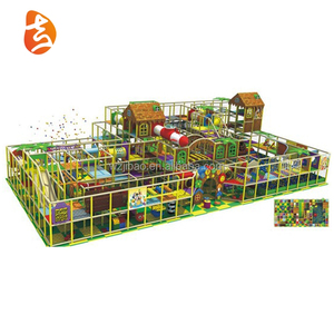 Low price puzzle game interaction large indoor playground equipment