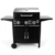 Smokeless 3 Main Burner Bbq Infrared Gas Grill With Wheel