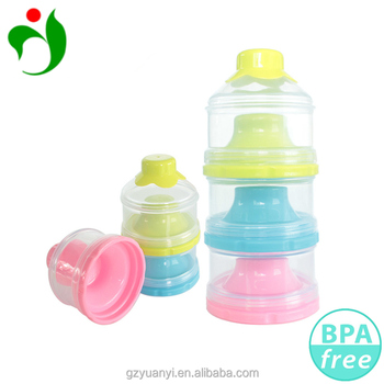 a68f8232e10a Stackable Formula For Traveling Portable 3 Layers Baby Milk Powder  Dispenser And Snack Container - Buy Milk Powder Dispenser,Baby Milk Powder  ...