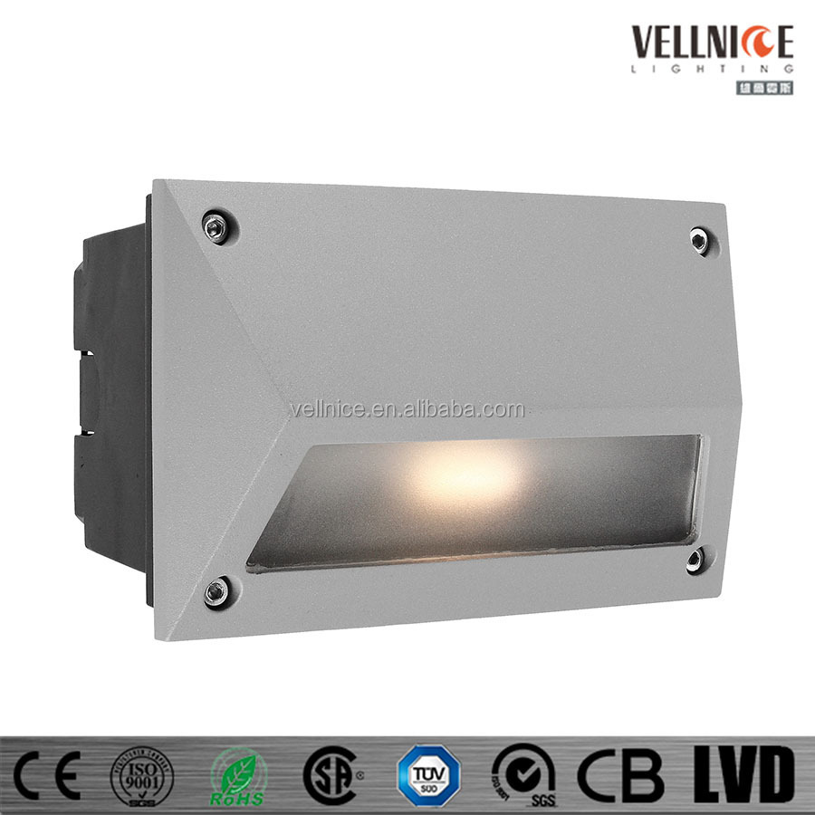 Vellnice 3x1w Led Outdoor Lighting,Led Wall Lamp,Led Recessed Wall ...