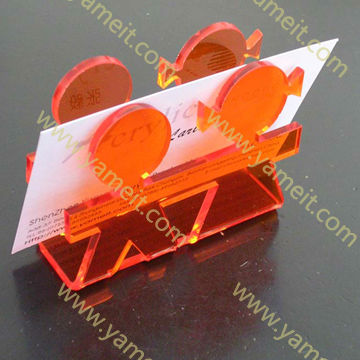 Customized Acrylic handicraft gift namecard holder product