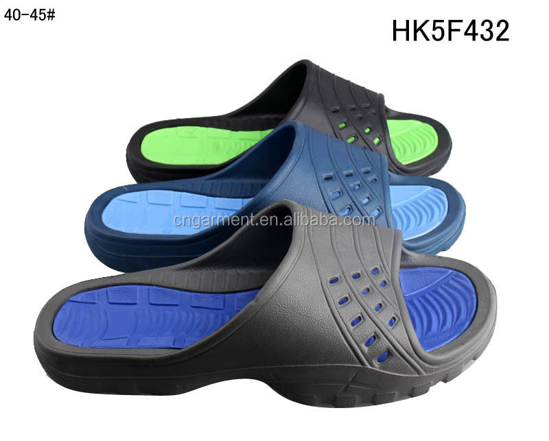 Men's big size summer slides swimming pool side sandals