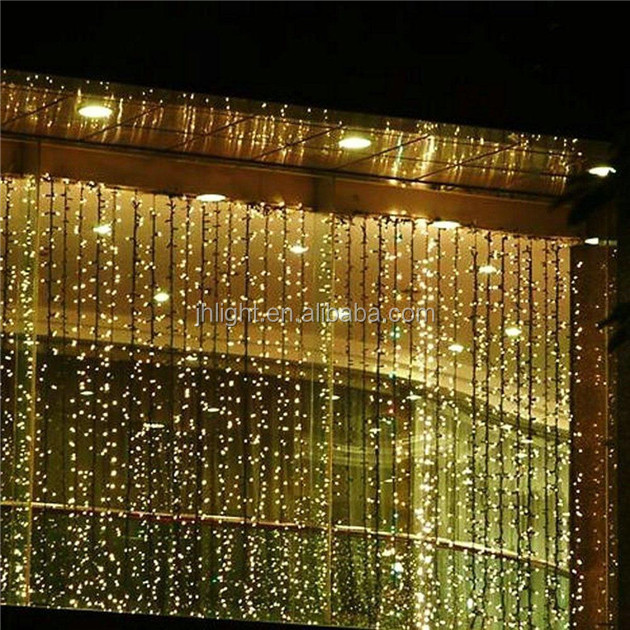 4.5M x 3M New Year Christmas Garlands LED Fairy String Christmas Lights Party/Wedding/Curtain Decoration Fairy Lights
