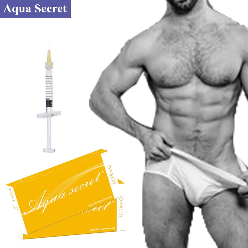 hyaluronic acid dermal gel penis enlargement filler for penis enchncement,  View penis enlargement filler, AQUA SECRET Product Details from
