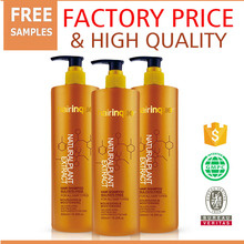 Free chemical natural extract ingredient shampoo accept OEM brands no sulfate make dry and damaged hair shiny and silky
