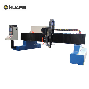 Gantry type cnc plasma/flame cutting and drilling machine