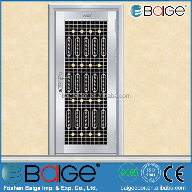 Bg Ss9058 Cheap Grill Designs Stainless Steel Front Door Buy
