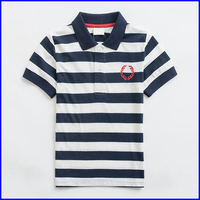 handsome high quality striped chirldren fancy polo t-shirts free shipping